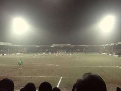 Glanford Park, section: South Stand, row: H, seat: 0049