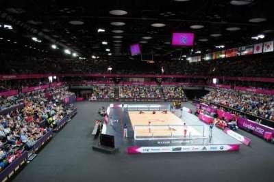 Copper Box Arena section 208