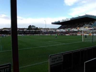 Memorial Stadium (Bristol), section: South Stand, row: B, seat: 64