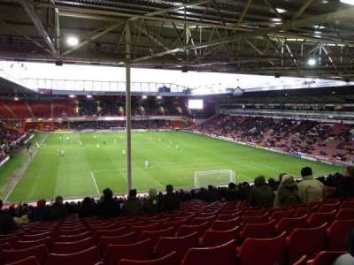 Bramall Lane, section: Kop Stand Gangway B, row: AF, seat: 56