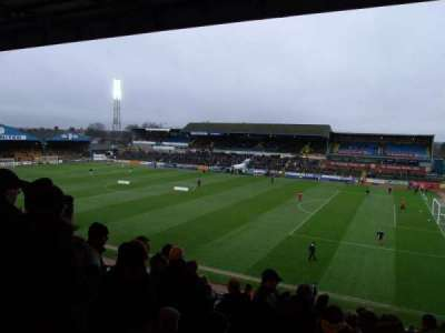 Brunton Park, section: 3, row: R, seat: 5
