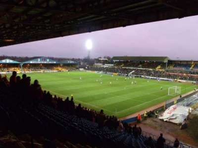 Brunton Park, section: 1, row: Z, seat: 1