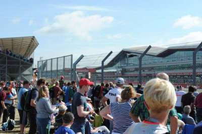 Silverstone Circuit, sección: General Admission