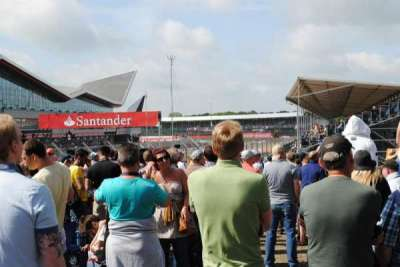 Silverstone Circuit section General Admission