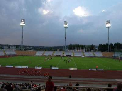 Don Valley Stadium, section: 5 Upper, row: EE, seat: 2