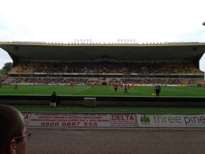 Molineux Stadium, section: JL5, row: B, seat: 140