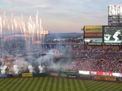 Angel Stadium section 522