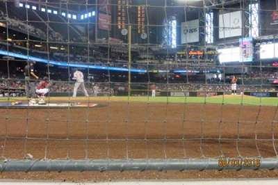Chase Field, section: GW, row: AW, seat: 6