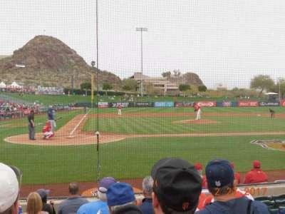 Tempe Diablo Stadium, section: 14, row: G, seat: 15