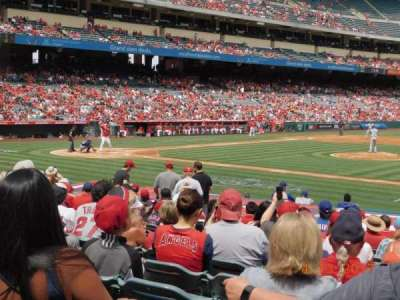 Angel Stadium, section: 125, row: R, seat: 11