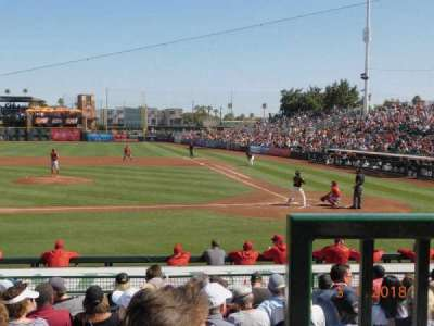 Scottsdale Stadium, section: 209, row: K, seat: 1