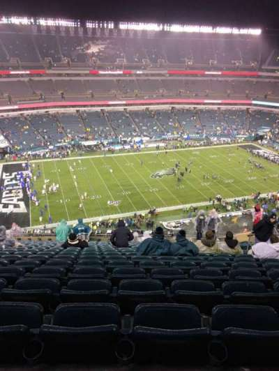 Lincoln Financial Field section 242