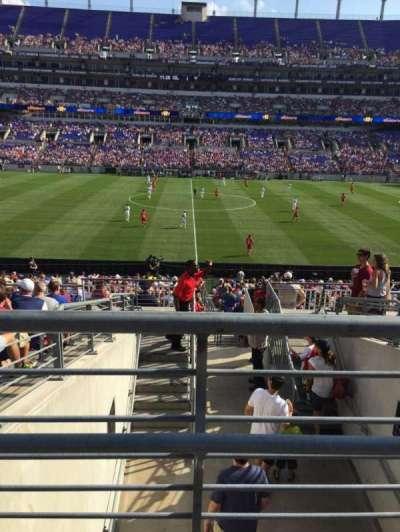M&T Bank Stadium, section: 100, row: 29, seat: 1