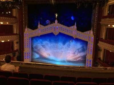 CIBC Theatre, section: Mezzanine RC, row: E, seat: 318