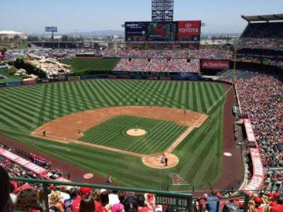 Angel Stadium section V518