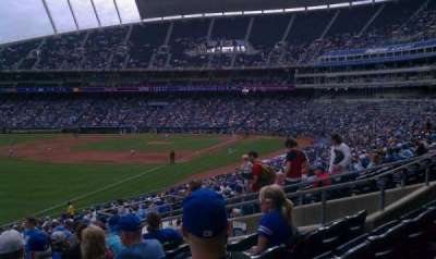 Kauffman Stadium section 209