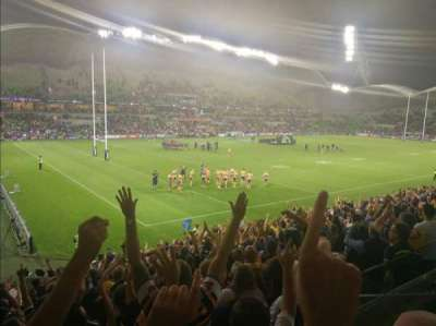 AAMI Park, section: S11, row: S, seat: 120