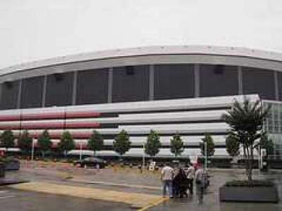 Georgia Dome section Outside