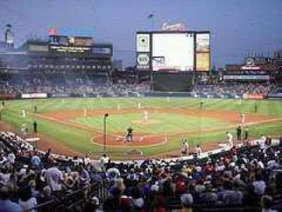 Turner Field section Lower level