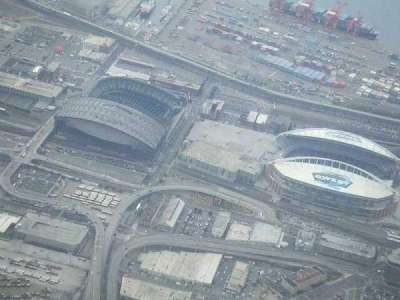 CenturyLink Field, section: Above