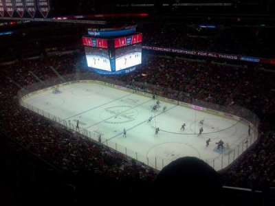 Verizon Center, section: 421, row: N, seat: 1