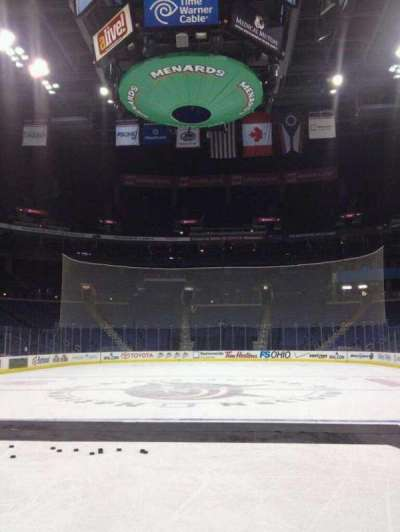 Nationwide Arena section On Ice