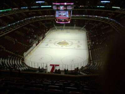 United Center section 325