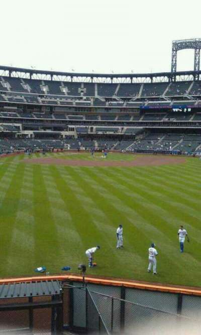 Citi Field section Centerfield