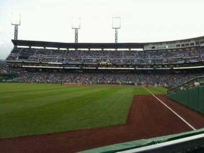 PNC Park, section: 133, row: A
