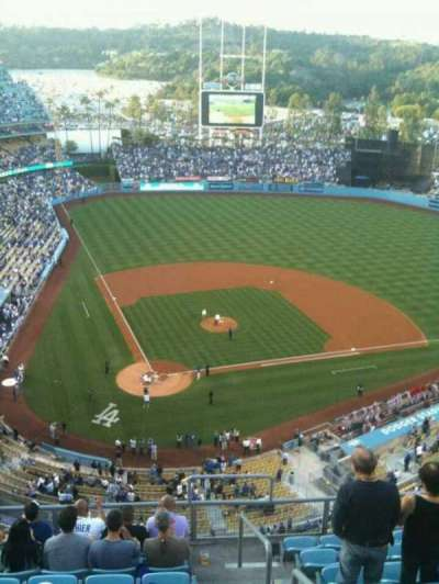Dodger Stadium, section: 6TD, row: J, seat: 22