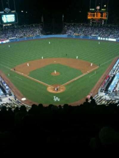 Dodger Stadium, section: 1TD, row: R, seat: 12
