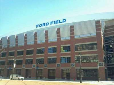 Ford Field section Outside