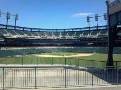 Comerica Park section Street