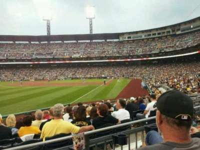 PNC Park, section: 131, row: B, seat: 16