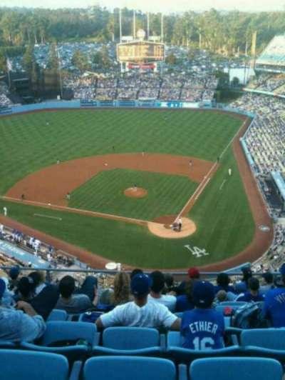Dodger Stadium, section: 7TD, row: K, seat: 11