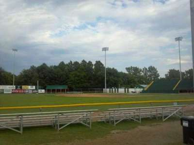 Centennial Field, section: 3rd Base Fence