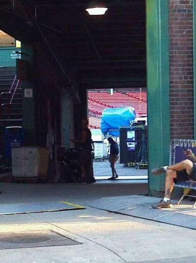 Fenway Park, section: Street