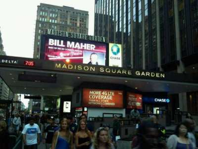 Madison Square Garden, section: Main Entrance