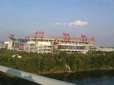 Nissan Stadium section Outside