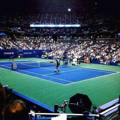 Arthur Ashe Stadium, section: 29, row: G
