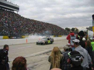 Martinsville Speedway section Pit Road