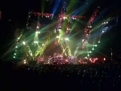 John Paul Jones Arena, section: 111, row: F, seat: 3