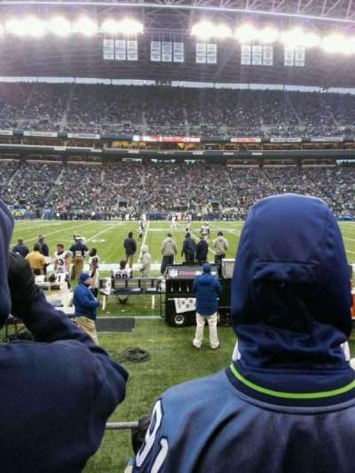 CenturyLink Field, section: 109, row: C, seat: 21