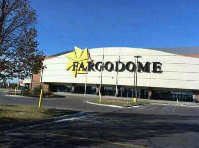 Fargodome, section: Outside
