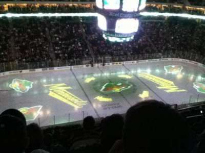 Xcel Energy Center, section: 221, row: 9, seat: 10