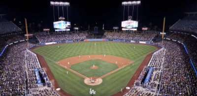 Dodger Stadium, section: 1TD, row: A, seat: 4