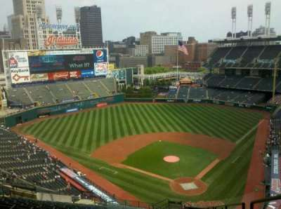 Progressive Field section 556