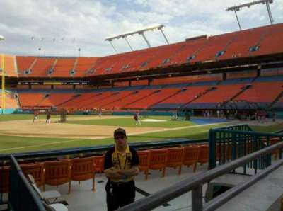 Hard Rock Stadium section 102