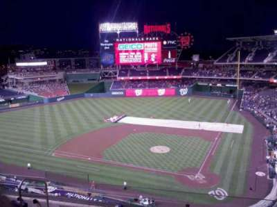 Nationals Park, section: 311, row: G, seat: 16