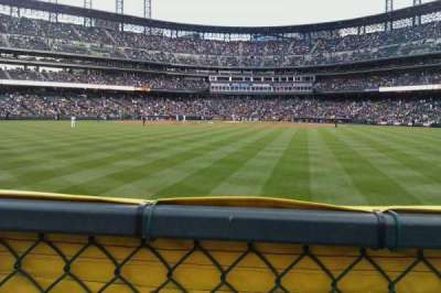 Coors Field section 160